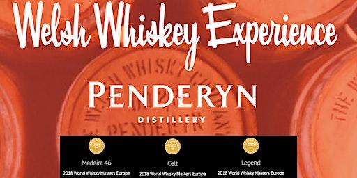 Penderyn Welsh  Whisky Tasting Experience