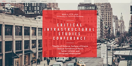 Critical Infrastructural Studies Conference tickets