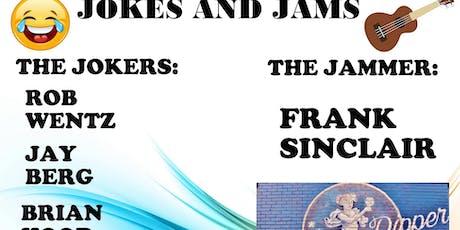 Upper Left's Jokes And Jams tickets