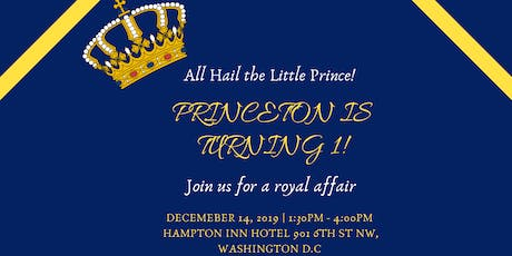 The Royal Prince's 1st Birthday  tickets