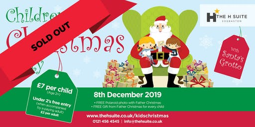 Children's Christmas Party-NOW SOLD OUT
