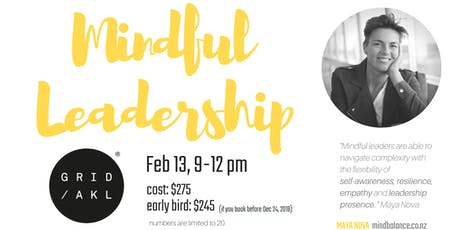 Introduction to Mindful Self-Leadership tickets