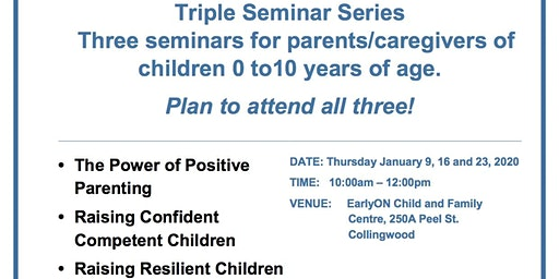 Triple P Parenting - Select Series - Power of Positive Parenting