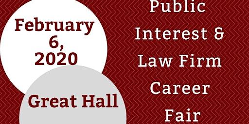 Public Interest & Law Firm Career Fair