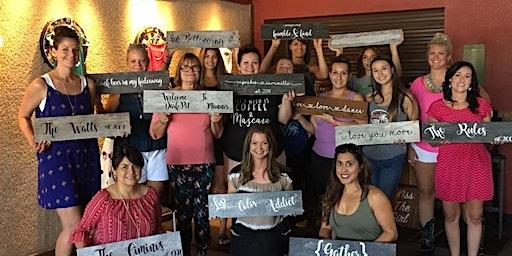 Sacramento Women's Wine Club Make & Take Class
