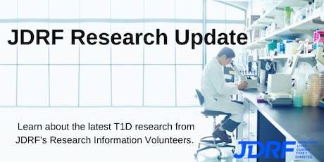 JDRF Research Update tickets