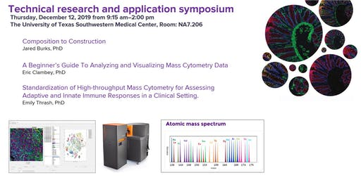 Mass Cytometry (CyTOF) and Imaging Mass Cytometry (IMC) Research Symposium
