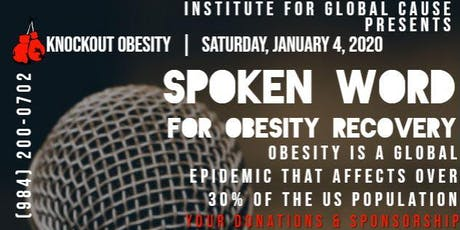 Spoken Word - Mental, Physical, & Nutritional Wellness for Obesity Recovery tickets