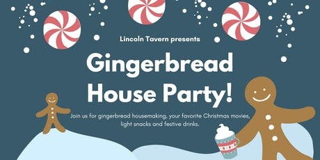 Gingerbread House Party!!! tickets