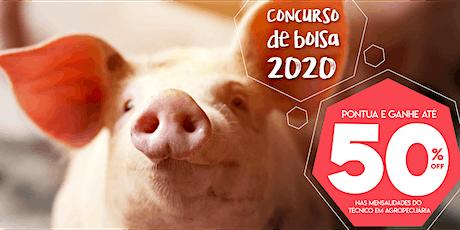 Concurso de bolsa 2020 - Técnico em Agropecuária ingressos