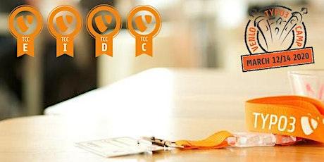 TYPO3 Certification during TYPO3camp Venlo 2020 tickets