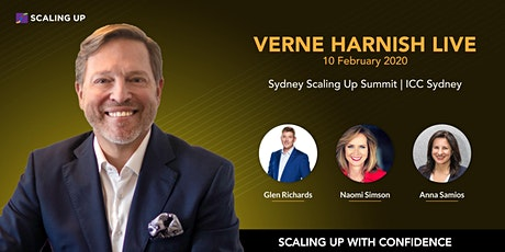 Sydney Scaling Up Summit 2020 |Verne Harnish LIVE tickets