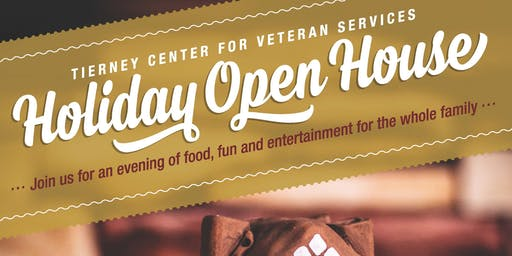 Tierney Center for Veteran Services Holiday Open House