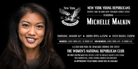 Michelle Malkin January Speaker Series & Book Signing tickets
