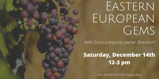Saturday Samplings: Eastern European Gems