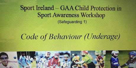 Safeguarding 1 Workshop tickets
