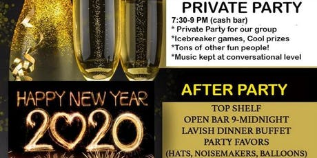 Long Island New Years Eve Singles Party- $50 (early) tickets