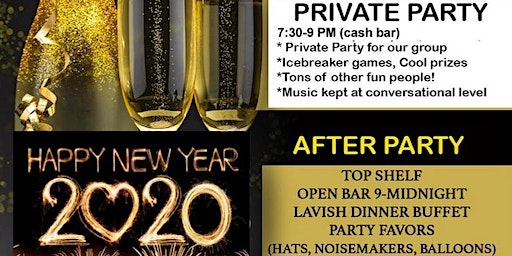 Long Island New Years Eve Singles Party- $50 (early)