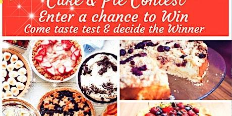 Cake & Pie Contest tickets