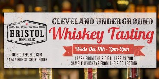 Cleveland Underground Whiskey Tasting