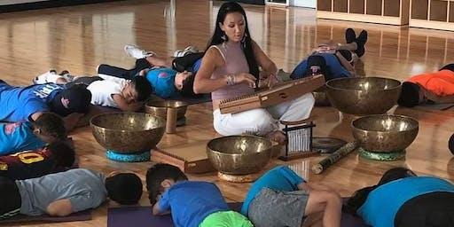 Yoga and Sound Meditation Special Needs Kidz