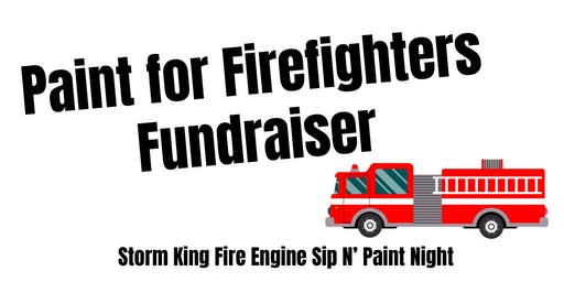 Paint for Firefighters Fundraiser