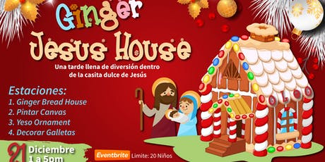 GINGER JESUS HOUSE tickets