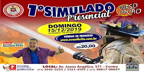 1º SIMULADO PRESENCIAL - SOLDADO BMBA - 15 DE DEZEMBRO DE 2019 - DOMINGO ingressos
