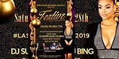 FESTIVE ALL-INCLUSIVE Saturday December 28th [last saturday of 2019] 10pm to 3am