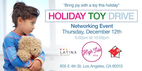 Holiday Toy Drive/Networking Event tickets