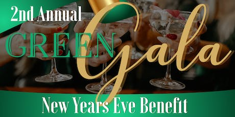 The 2nd Annual Green Gala New Year's Eve Benefit Hosted by VK tickets