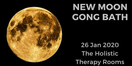 New Moon Gong Bath tickets