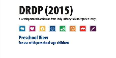 DRDP(2015): Desired Results Developmental Profile tickets