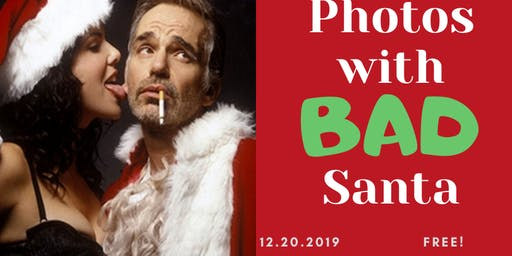 Photos with Bad Santa