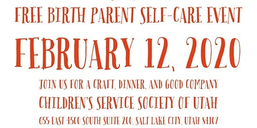 Birth Parent Self Care Event