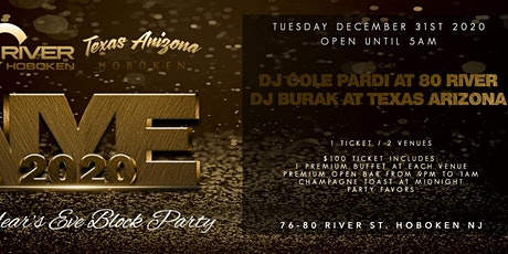 2 Venues 1 Ticket! New Year's Eve at 80 River and Texas Arizona tickets