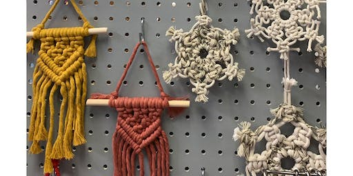 Macrame Holiday Ornaments Workshop
