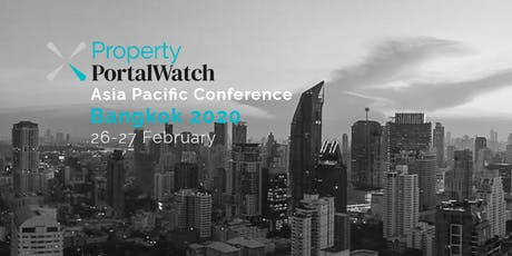 Property Portal Watch Conference Bangkok 2020 tickets