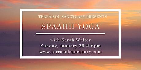 Spaahh Yoga tickets