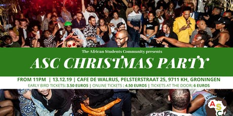 ASC Christmas Party tickets