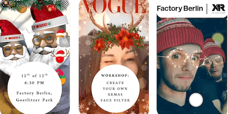 Develop your first AR Experience - A Christmas Face Filter  tickets