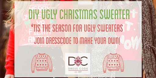 Get Crafty with DressCode - DIY Ugly Christmas Sweater