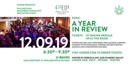 420EDx Holiday Education Event: Philly tickets