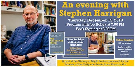 An Evening with Stephen Harrigan