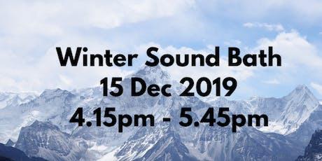 Sound Bath Gong Bath tickets
