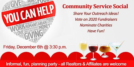 Realtor Community Service Social