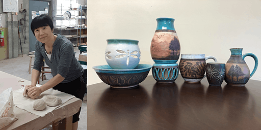 Mighty Mud Presents: Surface Design - Carving Patterns with Li Li
