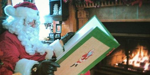 Visite du père Noël à La Maison Léon-Provancher