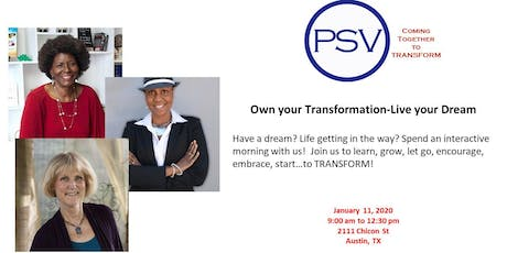 Own your Transformation-Live your Dream tickets