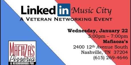 Copy of #LinkedInMusicCity A Veteran Networking Event tickets